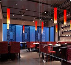 黎师傅中式餐馆--空间照明设计
