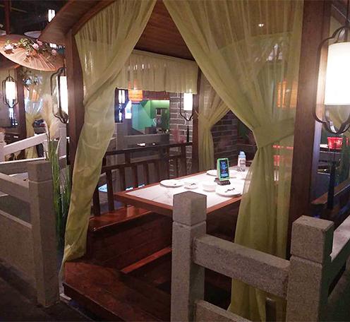 光柏士灯光设计案例丨广州渔意私房菜