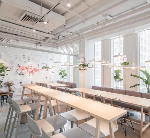 光柏士灯光设计案例丨本质咖啡阳光房