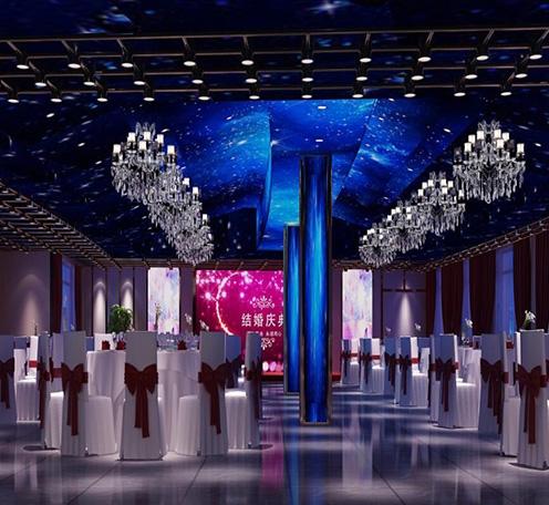 光柏士灯光设计案例丨酒楼餐厅宴会厅