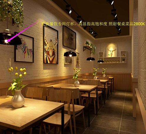 光柏士灯光改造案例丨武汉烧烤店