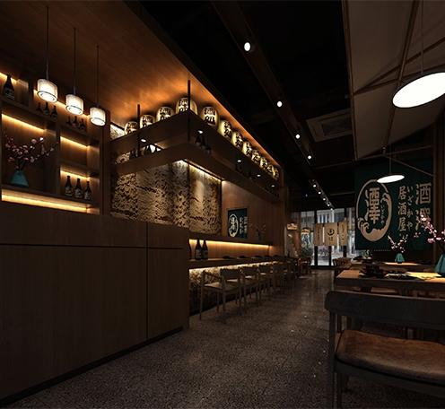光柏士灯光改造案例丨日式居酒屋