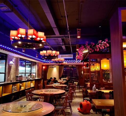 灯光打得好,顾客来得早——中山石岐湘溪餐厅设计项目