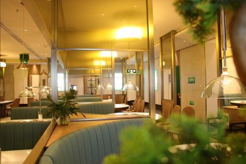 光柏士灯光设计案例丨佛山优食坊蒸鲜餐厅