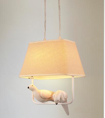 北欧小鸟创意餐厅灯