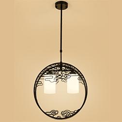 新中式仿古禅意餐厅吊灯