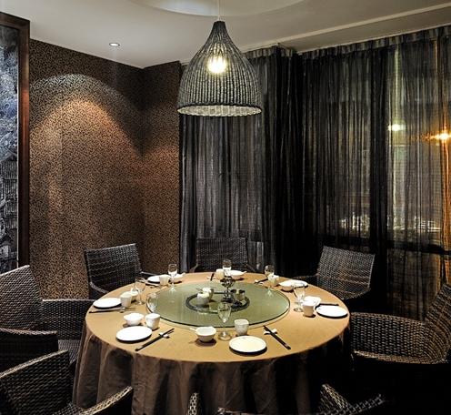餐厅包间灯光设计