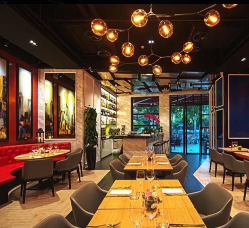 西餐厅灯光怎么设计