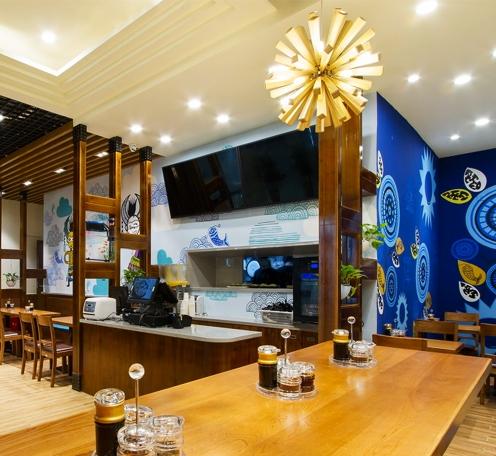 小户型餐馆需要明亮舒适的餐厅灯光环境,你的灯光用对了吗?