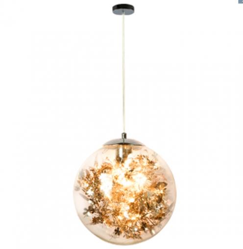 个性玻璃球餐厅吊灯