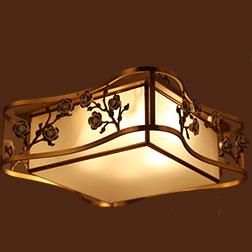 新中式吸顶灯方形灯