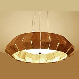 原木创意日式料理吊灯