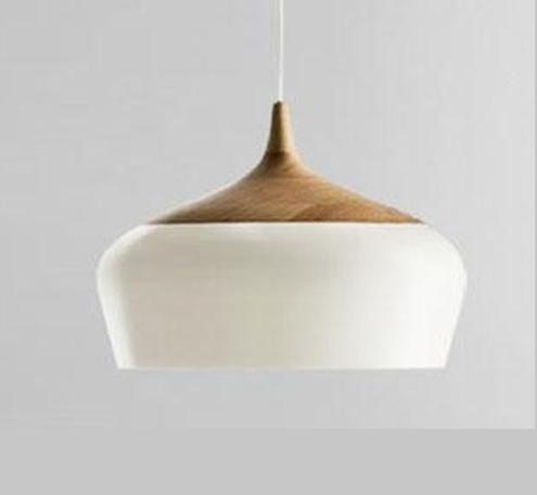 实木铝吊灯