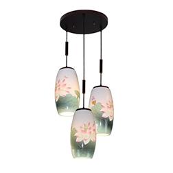 中国风陶瓷吊灯