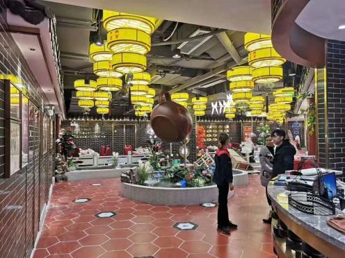 中餐厅设计中,灯光也有讲究