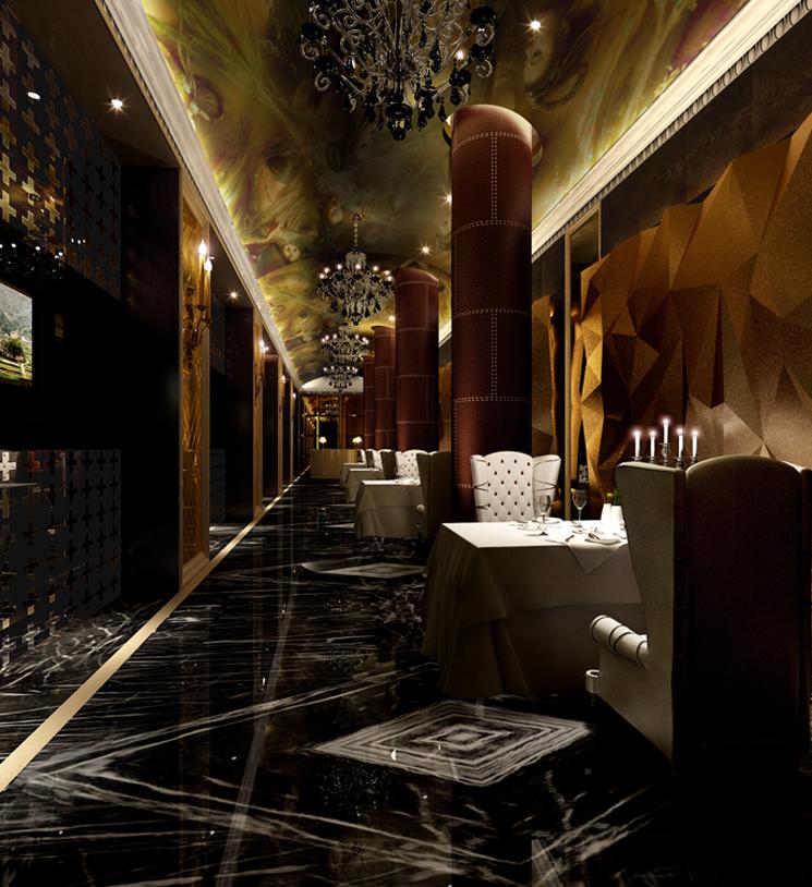 餐饮灯光是餐厅空间的承要因索之一,它可以影响消费者的就餐心理感受