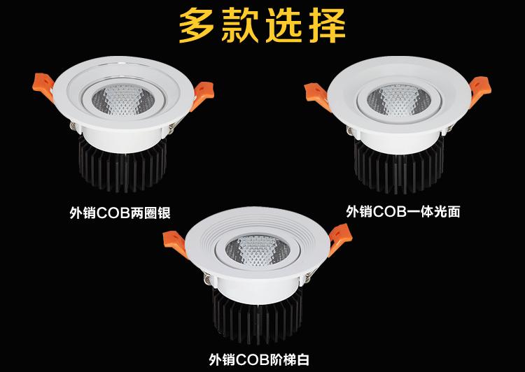 报告Boss 有家打着低调不失奢华、高端不失大气的厂家在搞LED筒灯大促,整一波?