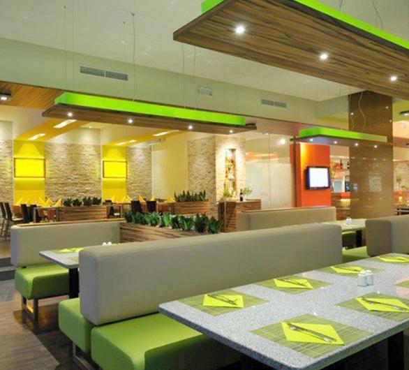 金黎餐厅灯光设计
