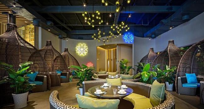 餐饮连锁店装对于不同风格的修设计的灯饰的选择