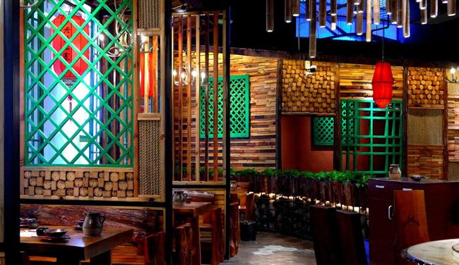 东南亚风情餐厅怎么使用灯光