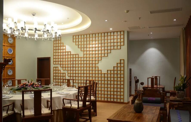 中式主题餐厅灯光空间设计