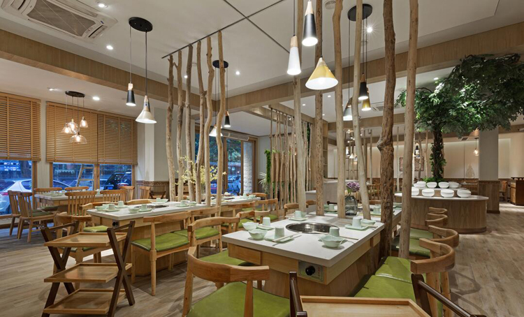 餐厅空间中怎样正确的使用光--餐饮照明灯光设计