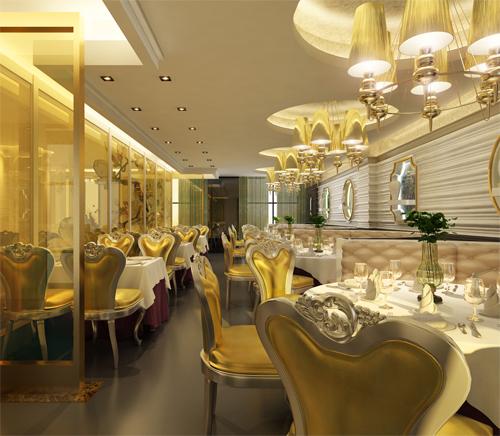 餐饮照明不同色光源提升客厅多层次照明