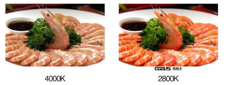 好的餐厅灯光起到增加食欲、酝酿情绪、渲染氛围的重要作用