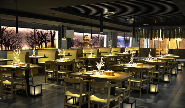 餐饮照明灯具能增加整体空间光环境的层次感