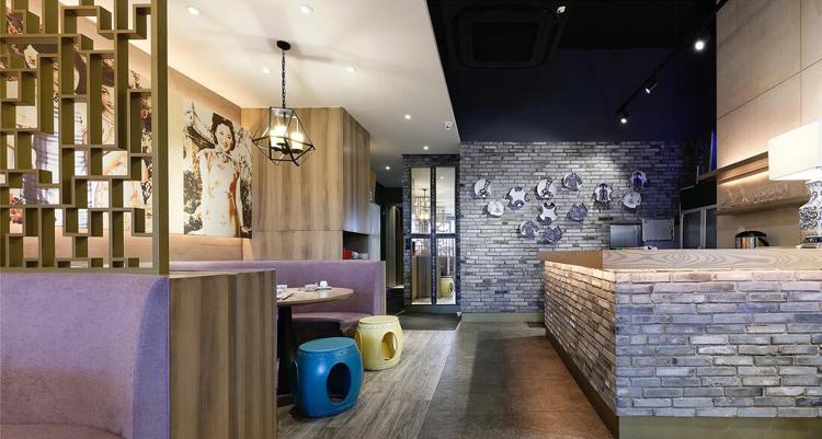餐饮灯具为餐饮店的空间营造出视觉气氛