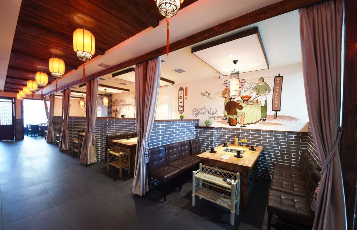 一家餐饮门店做好分区照明比餐厅软装更加重要!