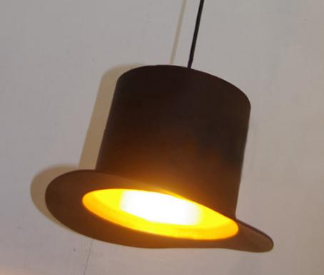 创意帽子餐厅吊灯