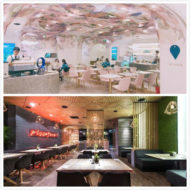 高颜值餐厅是如何做餐厅设计的?