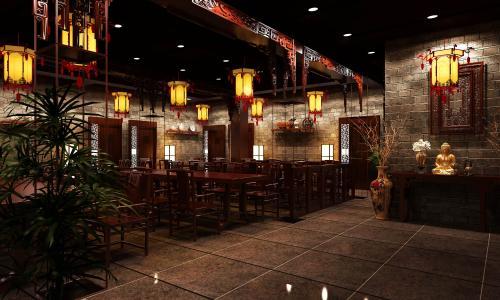 中式餐厅灯光,设计师该如何设计?