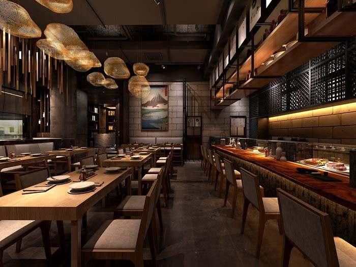 用灯光给餐厅变个魔术