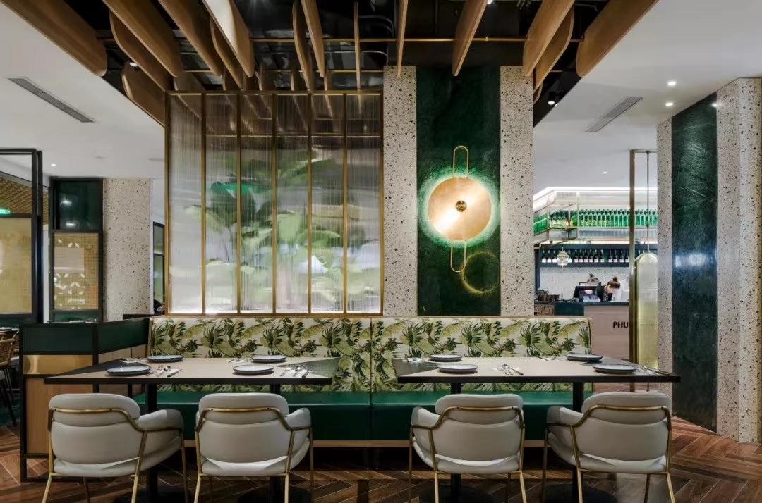 餐厅灯光的类型