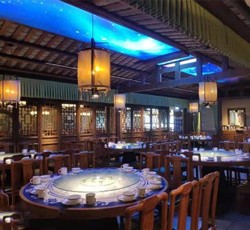 云联惠餐饮照明灯光设计案例