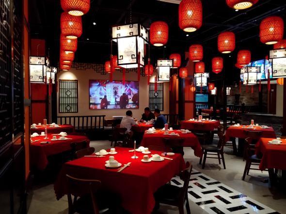 云联惠餐饮照明中式餐厅灯光案例