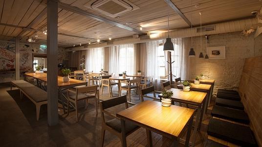 给你的餐厅来一个耳目一新的餐饮设计