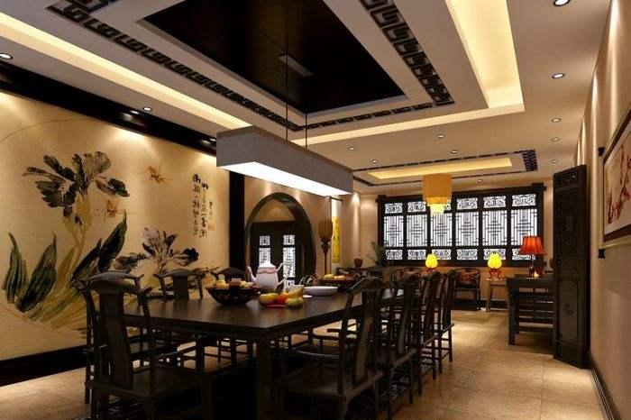 中式餐厅灯光方案,需要多少钱?